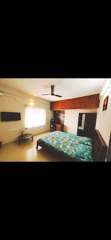 Private 1BHK Studio-AC-Wifi-Nr.Manyata Tech Park!!