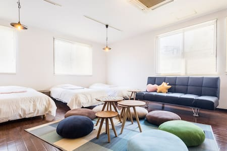 6people stay/near Haneda/Kamata 4minute/free wifi - Ōta-ku - Bed & Breakfast