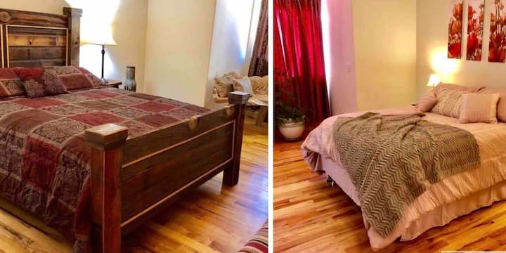 2 Rooms, 2 Private Bath Side by Side in Kanab Utah