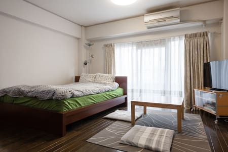 3 min to Mejiro! Queen size bed! - Apartemen