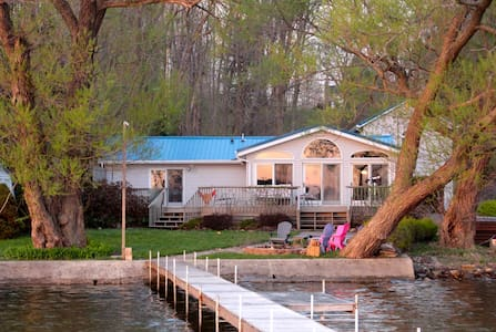 Lakefront Home w/Private Dock - House