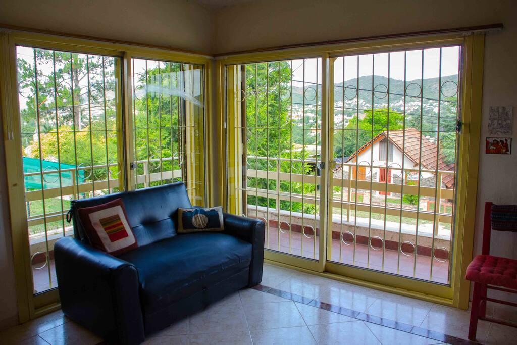 Ideal para relajarse y disfrutar con hermosa vista a las sierras
