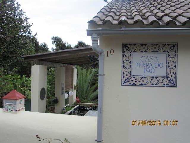 wohnung ibi im casa terra do pao,meerblick,garten - Terra do Pao - Apartamento