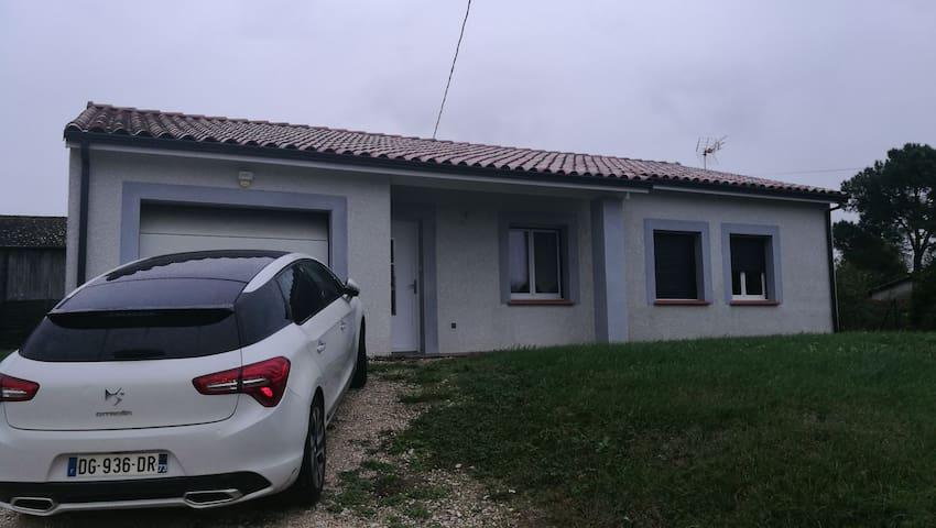 Location maison meublée