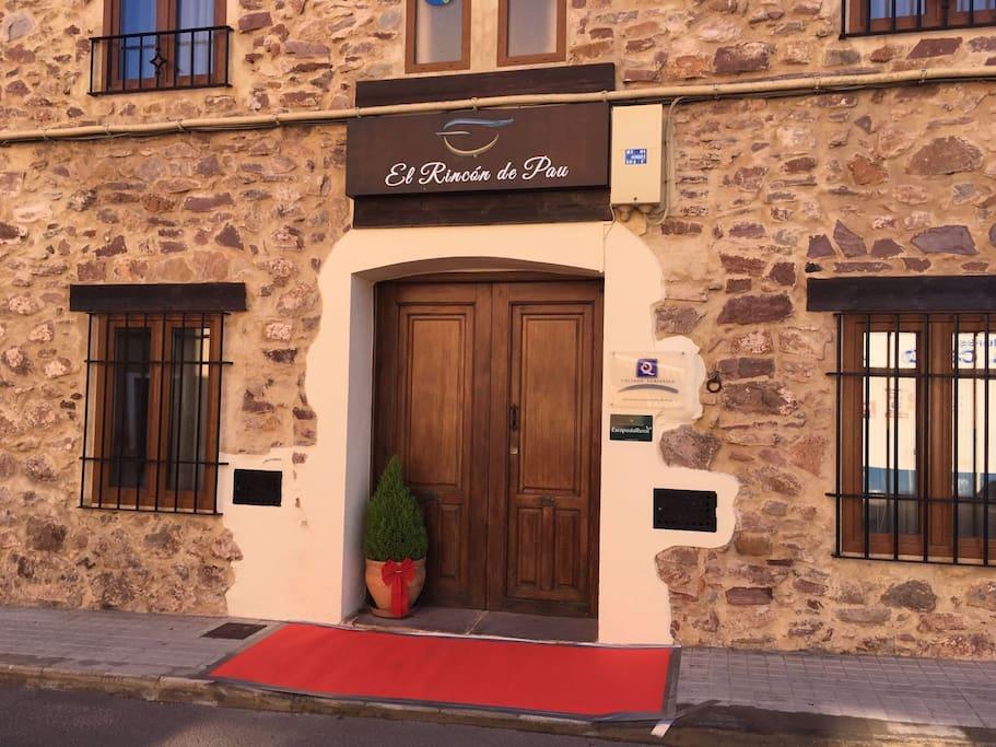 Entrada El Rincón de Pau