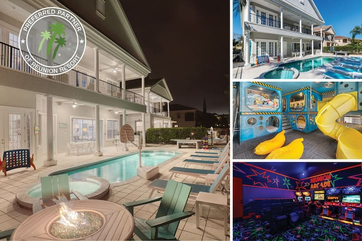 Luxury Vacation Villa |  5,368 sq. ft., $60k of Arcades, 2 Large Movie Screens
