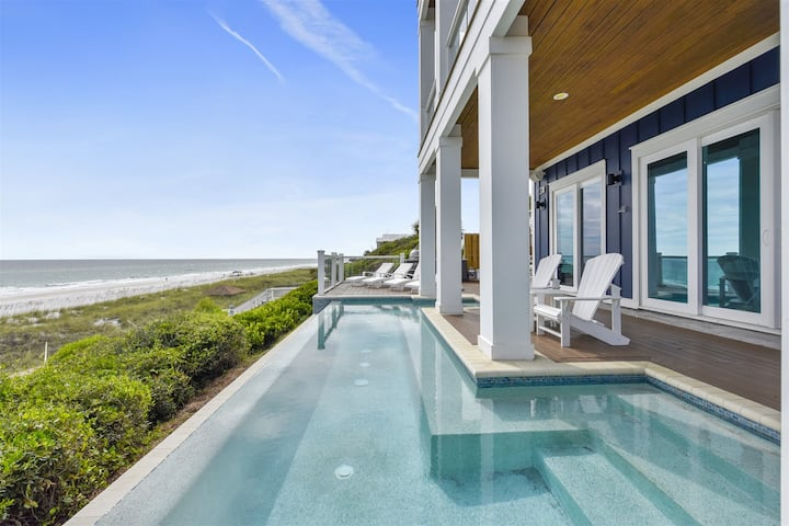 Gulf-Front Home in PCB w/ Private Infinity Pool. Breathtaking Views