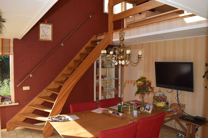 Cosy, two-room studio at our home. - Barneveld - Apartament