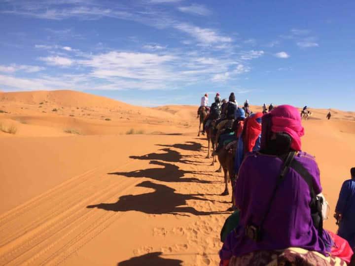 モロッコ砂漠ベルベル旅行