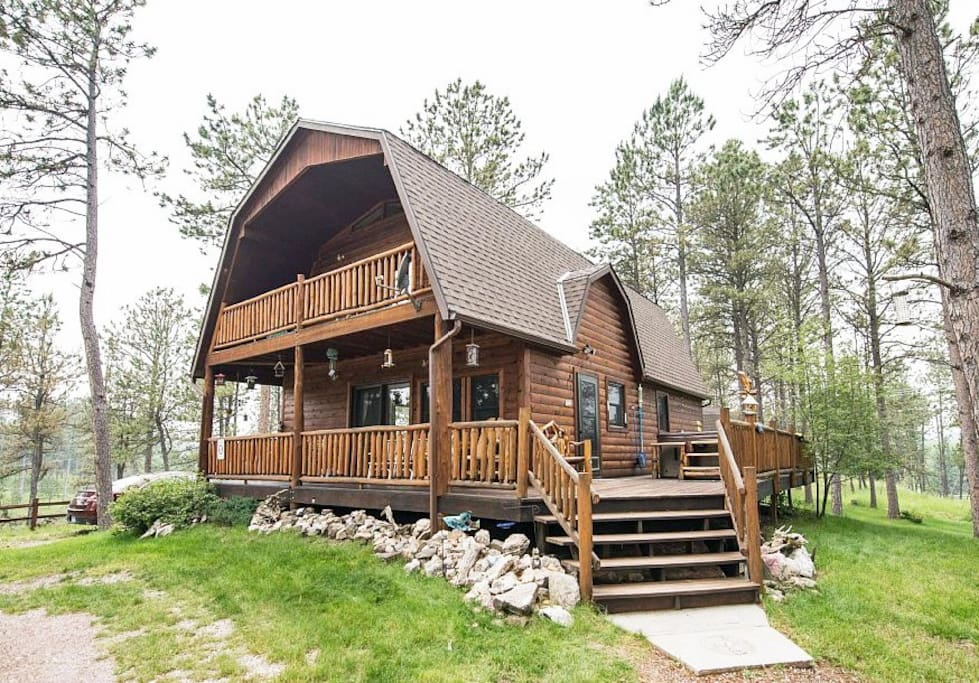 buffalo barn cabins for rent in custer south dakota