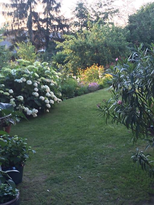 So sitzen Sie entspannt im Garten