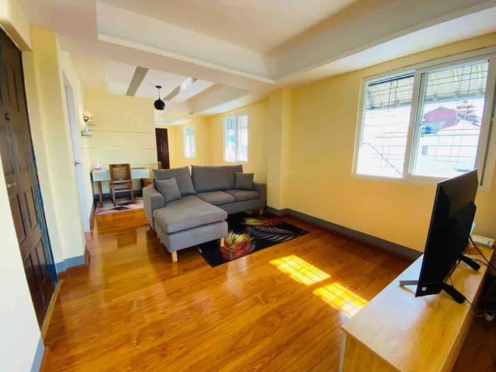 Private room in newly built apartment near Yankin