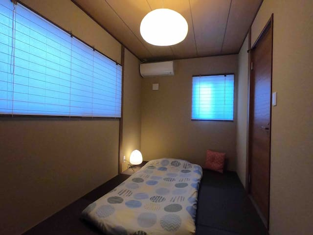 Room3 A 10-minute walk from Kyoto st!