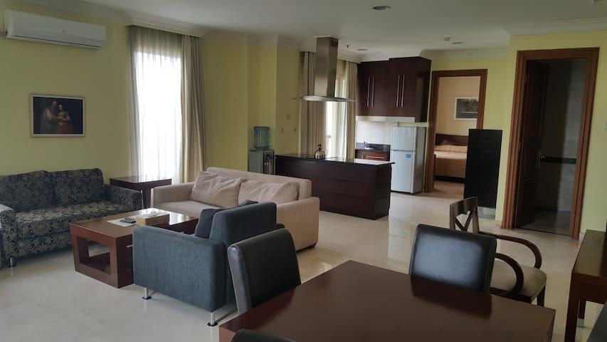 Oktroi Plaza Serviced Apartment Kemang - 1 BR - Mampang Prapatan - Apartment
