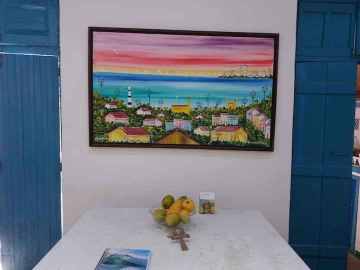 Casa/Galeria Olinda Olho d'arte - Ede Alves