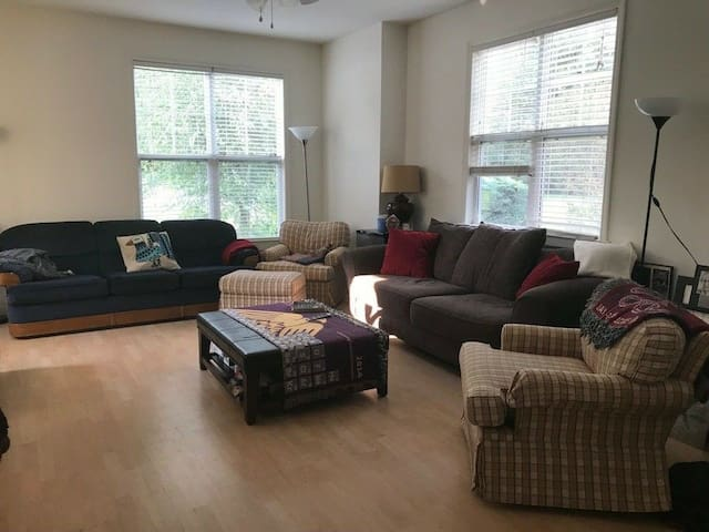 Comfy Space near Downtown Carrboro