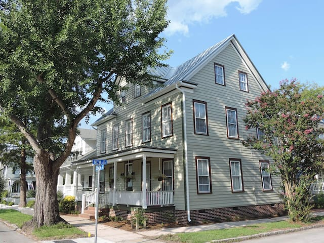 The Whitehurst House, Historic Downtown New Bern - New Bern - Apartamento