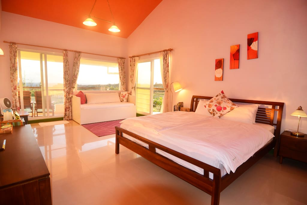 B3 VIP king size room with sea view - Bed and breakfasts
