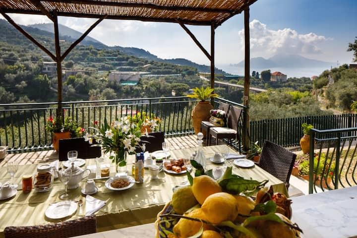 Villa Luisa, un angolo di paradiso con vista Capri