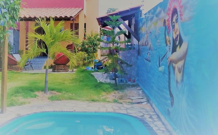 Casa Atelie de Praia em Carapibus
