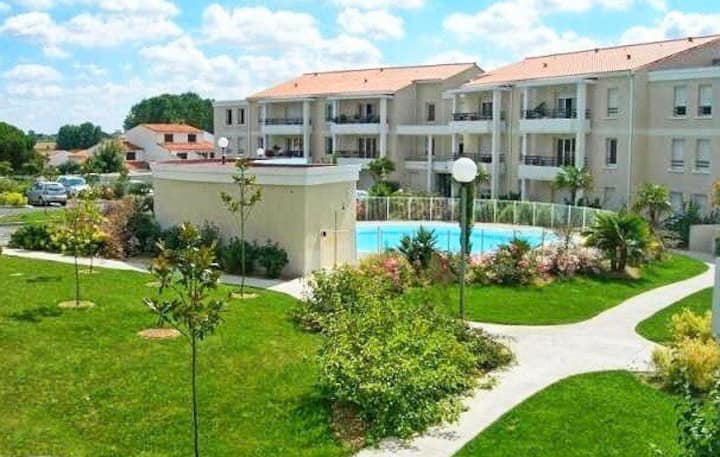 Appartement Le Mascaret à Royan avec piscine