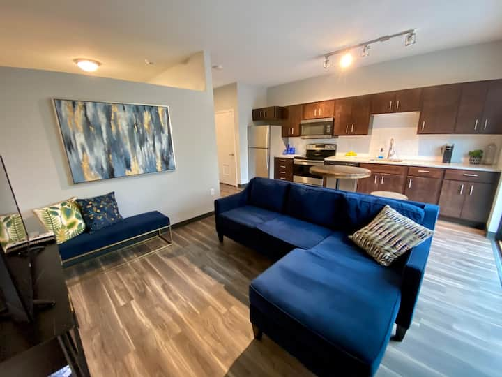 Peaceful & Modern 1BD APT | Explore the DM Metro