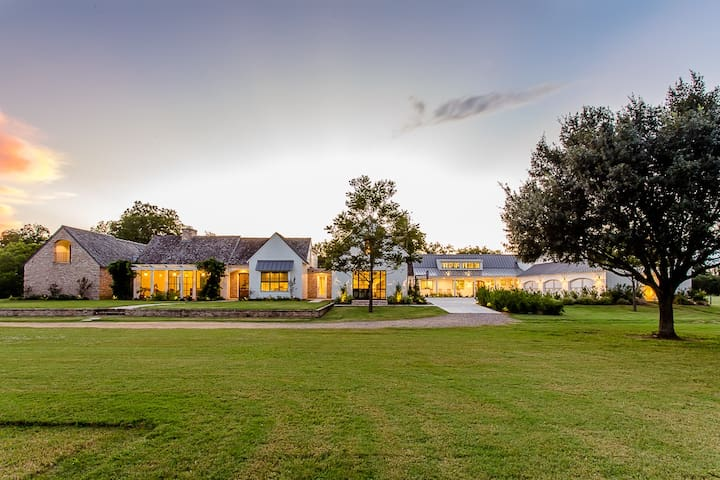 Luxury Country 13,000 sq.ft. Ranch - Fulshear - Maison