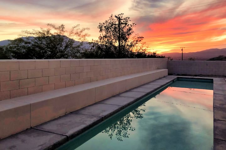 ☀️Relaxing Desert Oasis Escape w/Views & Pool☀️