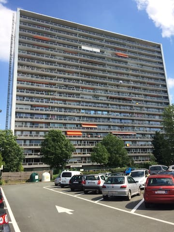 Cozy, sunny appartment with nice view - Leuven - Appartement