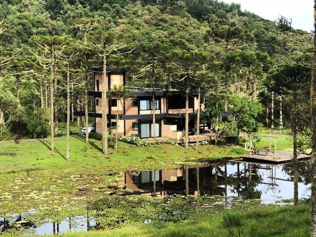 Casa no Lago - Paraiso na Serra Catarinense