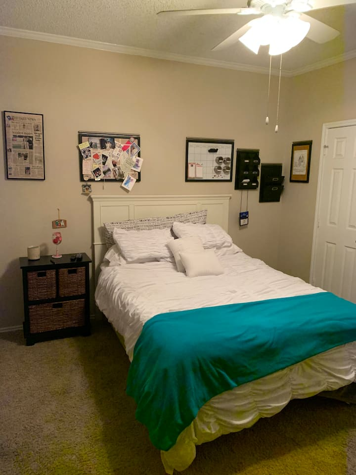 DFW Private RM & Bath Walking and Running areas