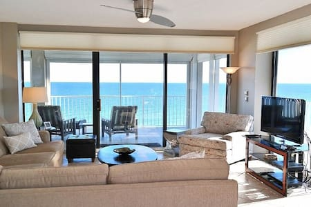 Luxury Beach Front Corner Unit with Stunning Views - 奧蘭治海灘(Orange Beach) - 公寓