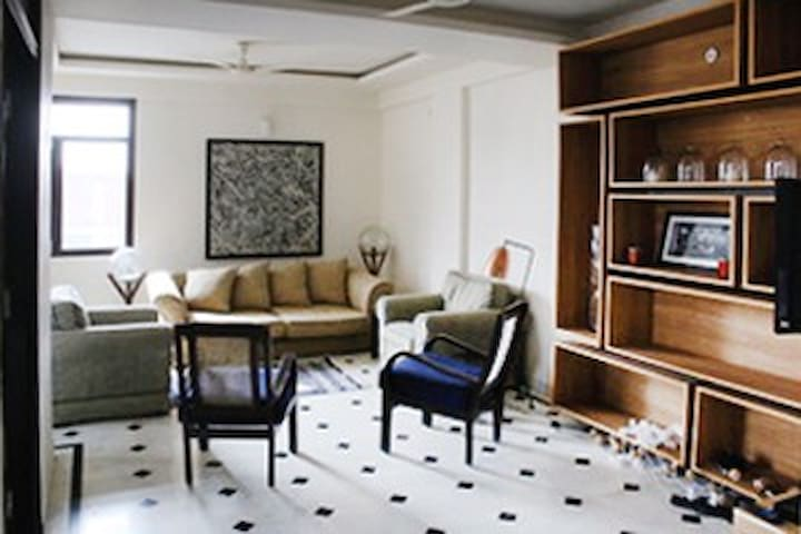 Fully furnished Jaipur gem - Jaipur - Leilighet