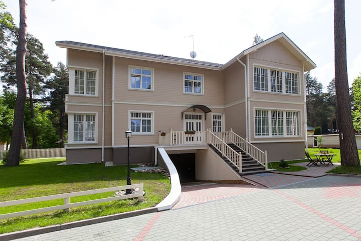 Lovely 3 room apartment (7) - Jūrmala - Bed & Breakfast