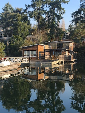 Waterfront cabin in Brentwood Bay.