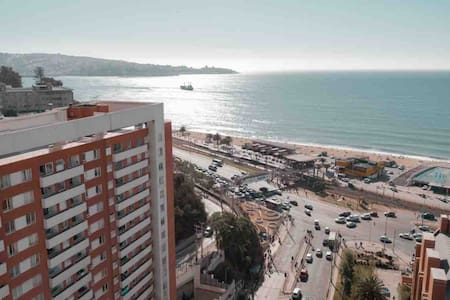 Wonderful flat with ocean view in Viña-Valparaiso