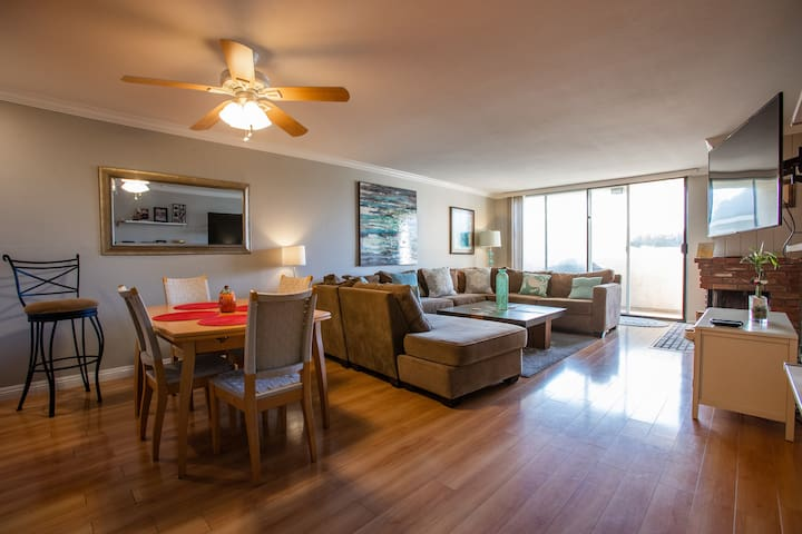 One bedroom-one bath available in 2 bedroom condo