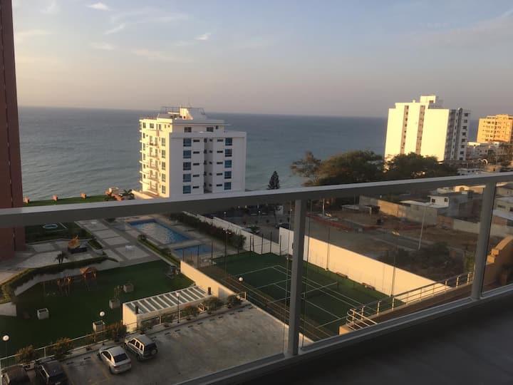 Edificio Arrecife vista al Mar