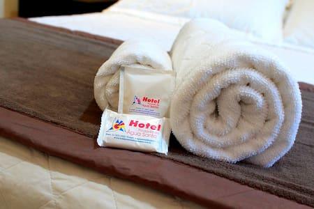 Seu lugar em Itabira, Hotel Água Santa.