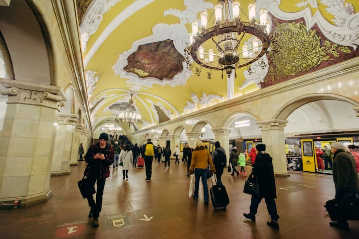 See the most beautiful subway stations!