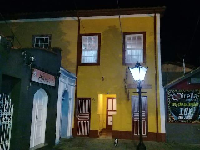 Casa Centenária localizada no coração da cidade