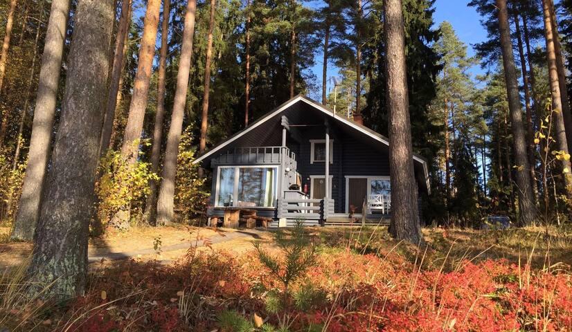 Log cottage on forested sunny plot! - Hämeenlinna - Cottage