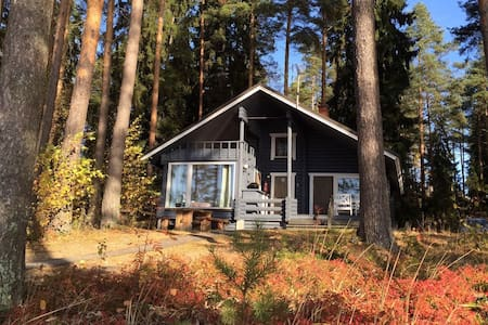 Log cottage on forested sunny plot! - Hämeenlinna