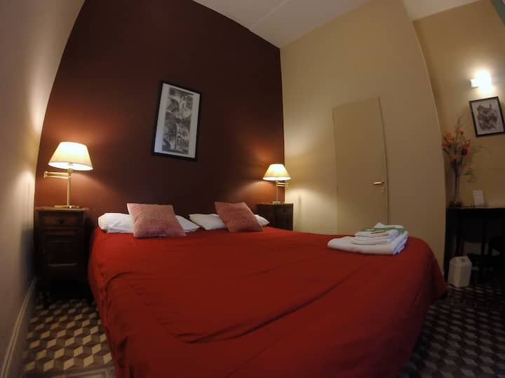 Double ensuite rooms at Sabatico Hostel