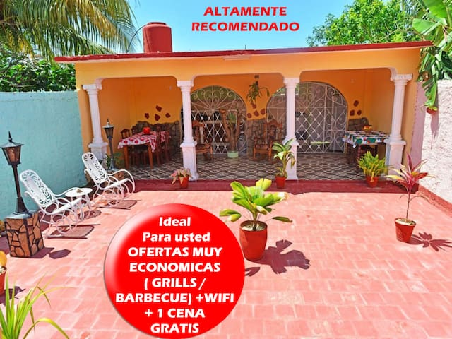 Room FORTALEZA-WIFI-1 free dinner for 4nights stay