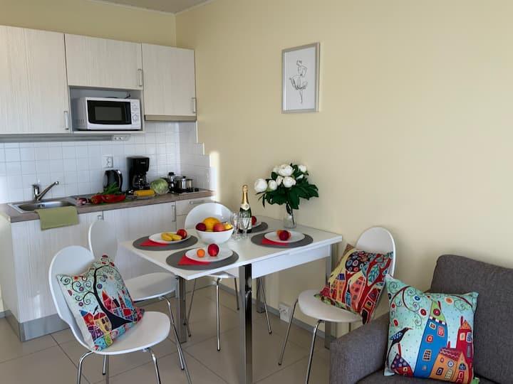 Cozy two-bedroom apartments