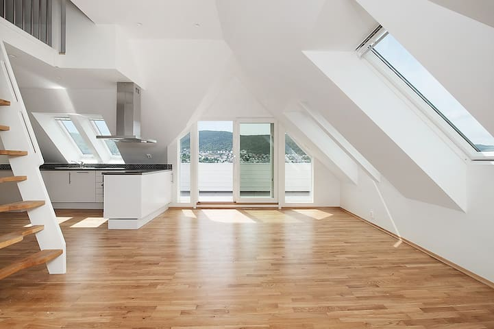 Beautiful apartment, great view, close to centre