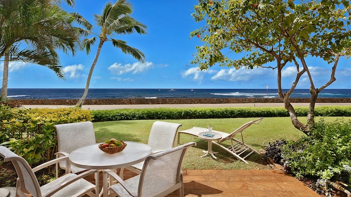 BOUTIQUE POIPU RESORT & OCEANFRONT VIEWS WITH AC!