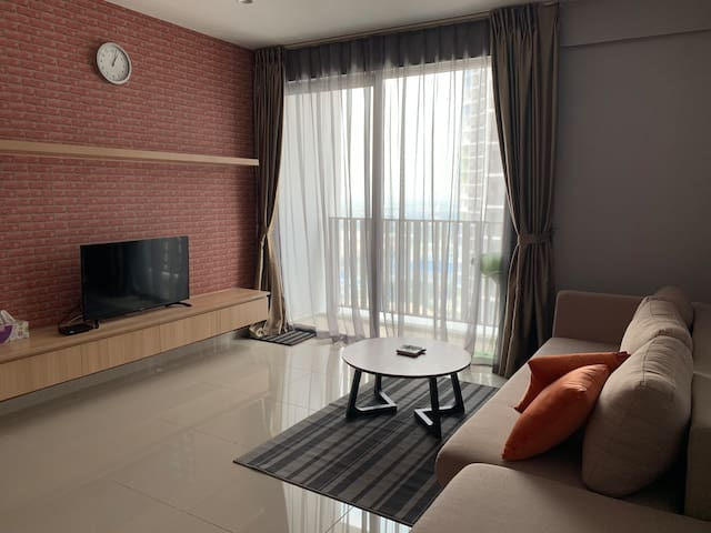 2-BR Apartment in Liberty Tower, within I-City