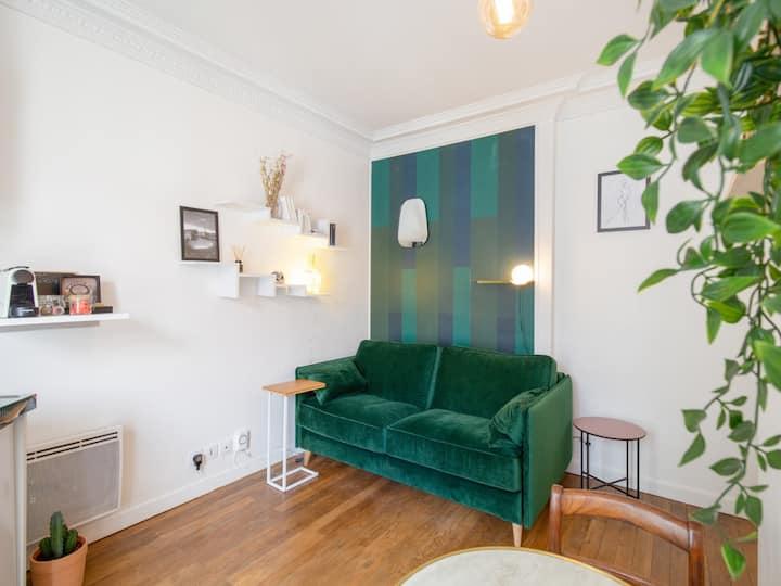 Bright studio at the doors of Paris - Welkeys